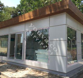 پروژه کانکس فروشگاهی شرکت پگاه