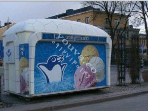 کانکس بستنی فروشی