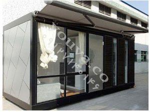 کانکس شیشه ایی و کانکس فلزی (4)